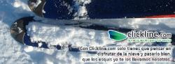 Enviar esquís con Clickline