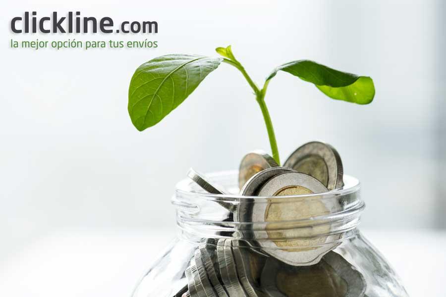 ahorrar al máximo en tus envios con CLICKLINE